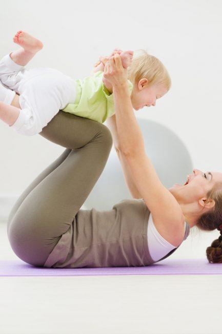 Post Pregnancy Core building Exercises
