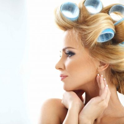 Hair Styling: Roll Up