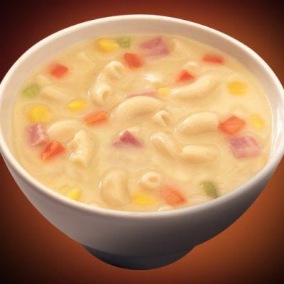 Macaroni And Corn Soup