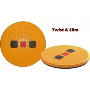 Acs Acupressure Twister Slim & Soft Stepper  (Yellow)