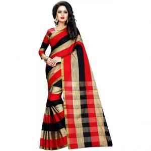 Anugrah Floral Print Bollywood Cotton