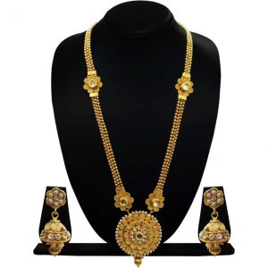 CHETAN Copper Jewel Set