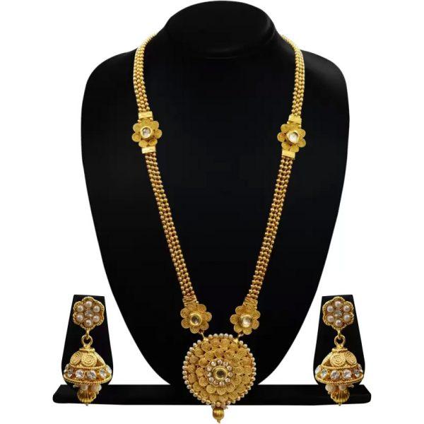 CHETAN Copper Jewel Set