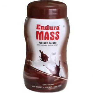 Endura Mass Weight Gainers  (1 kg, Chocolate)