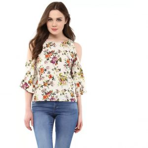 Harpa Casual 3/4th Sleeve Floral