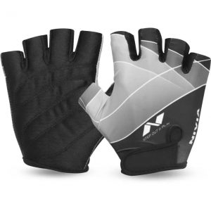 Nivia Crystal Gym & Fitness Gloves (S, Black)