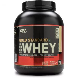 Optimum Nutrition Gold Standard 100% Whey Protein  (2.27 kg, Vanilla Ice Cream)