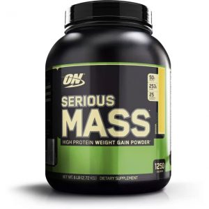 Optimum Nutrition Serious Mass Weight Gainers  (2.72 kg, Banana)