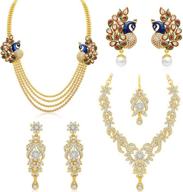 Sukkhi Alloy Jewel Set (Gold)