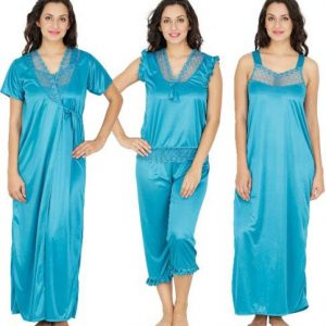Klamotten Women's Nighty with Robe