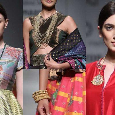 A Peep Into 'Parted Lips': Krishna Mehta Autumn Winter 2017 Collection