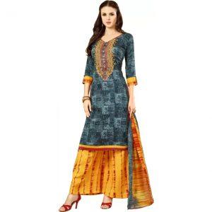 Divastri Cotton Embroidered Salwar