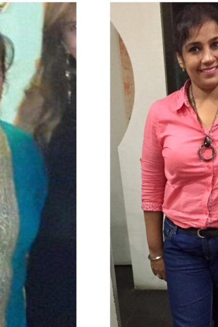 Story 7: Losing 25 Kgs in 10 Months, Nisha Believes It Is A Battle Of 'Mind Over Body'