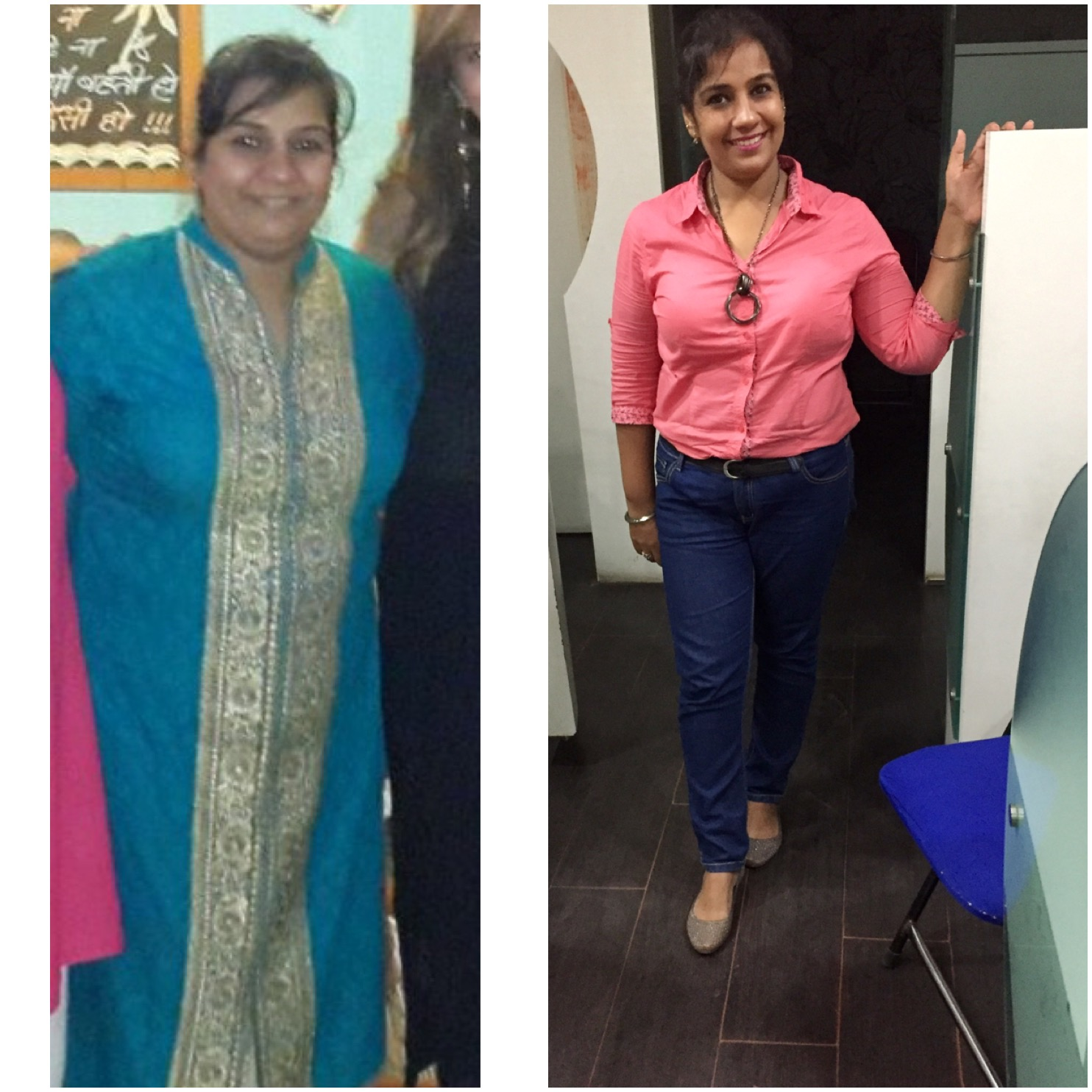 weight loss transformation indian