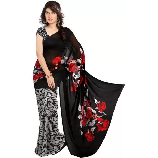 Printed Bollywood Georgette Saree