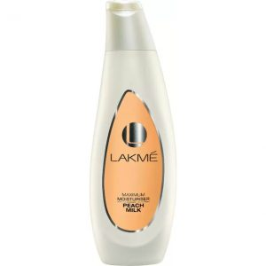 Lakme maximum Moisturizer Peach Milk  (60 ml)