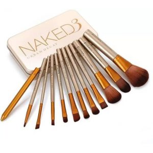 Smart Urban Decay Naked3 Makeup Brush Set  (Pack of 12)