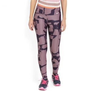 Nike Printed Women's Purple Tights
