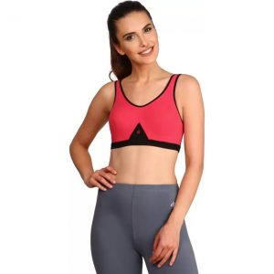 Jockey Women's Sports Pink Bra