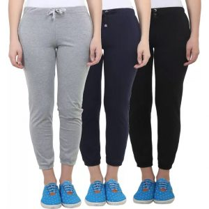 Vimal Solid Women's Multicolor Track Pants