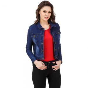 99 Affair Full Sleeve Solid Women's Denim Jacket