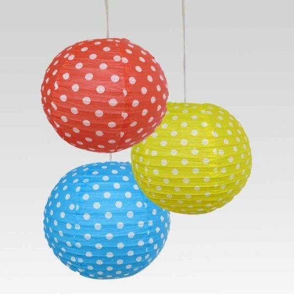 Multicolor Paper Lantern
