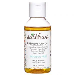 Satthwa Premium Regrowth Hair Oil  (100 ml)