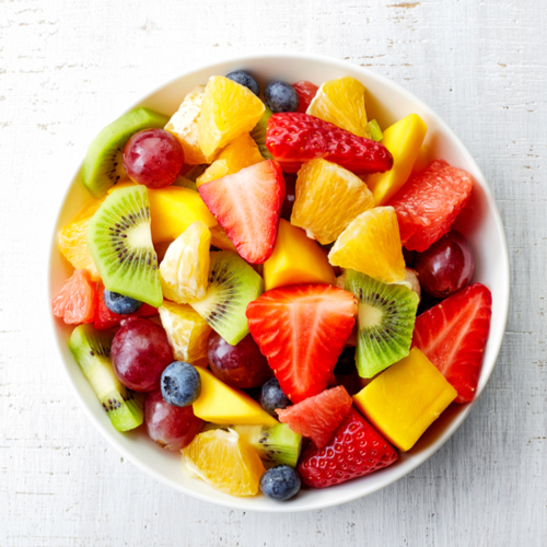 Citrus fruits and berries