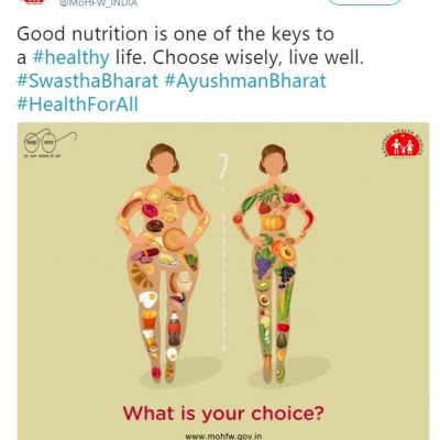 Health Ministry Deletes Fat-Shaming Tweet Against Non-Vegetarian Food