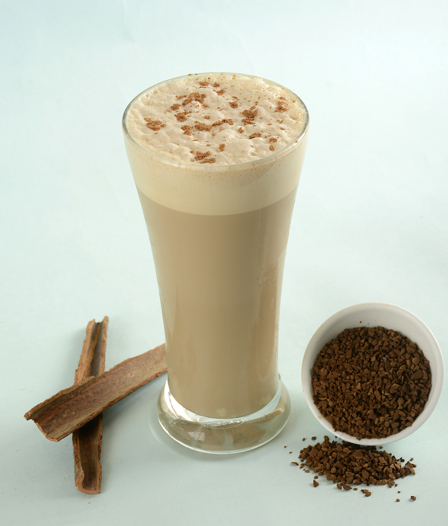 COFFEE & CINNAMON HI-PROTEIN POWER SMOOTHIE