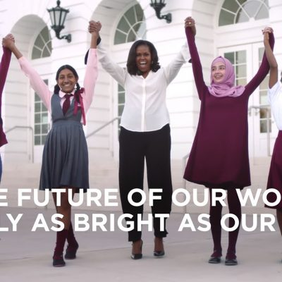 Michelle Obama Announces Global Girls Alliance to Support Adolescent Girls Education Around the World
