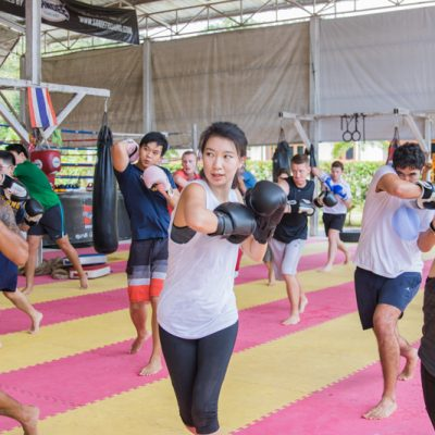A new wonderful experience with Muay Thai training for weight loss in Thailand