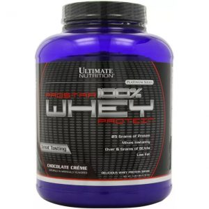 Ultimate Nutrition Prostar 100% Whey Protein  (2.39 kg, Chocolate)
