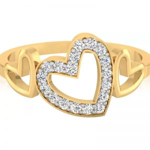 IskiUski 14kt Diamond Yellow Gold ring