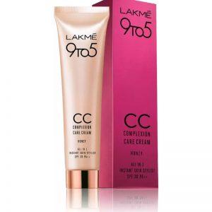 Lakme 9 to 5 Complexion Care Cream SPF 30 PA++ Foundation  (Honey)