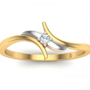 Theme Jewels 14kt Diamond Yellow Gold ring