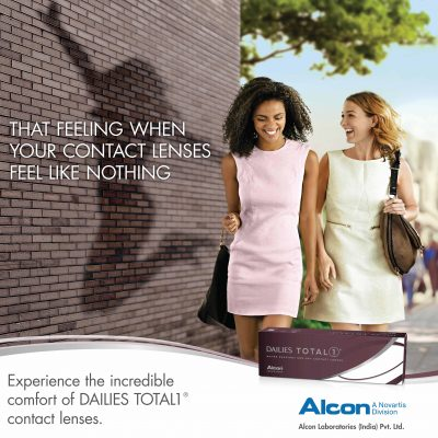 DAILIES TOTAL1® Water Gradient Contact Lenses Introduced by Alcon