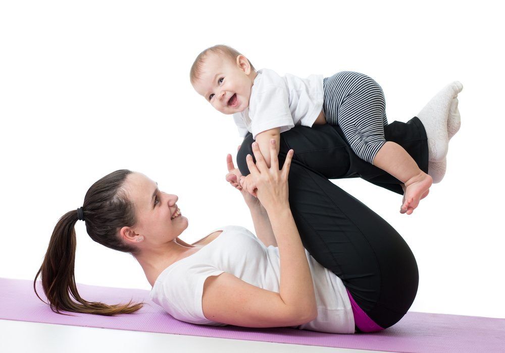 Lose Baby Weight With These 8 Exercises