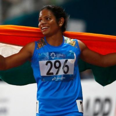 India's golden girl Dutee Chand has added another feather to her cap after finishing fifth in the women's 200m final at the World University Games in Nepoli.