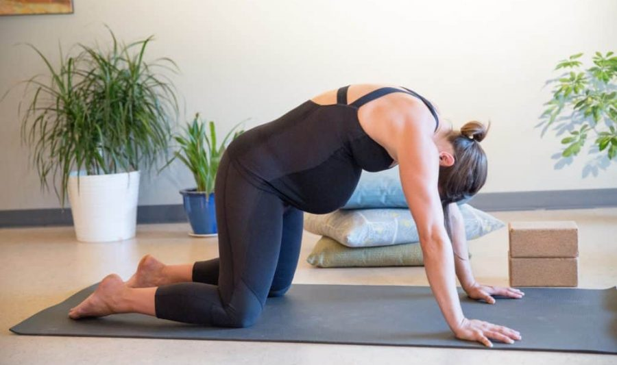 Yoga Poses For Breastfeeding