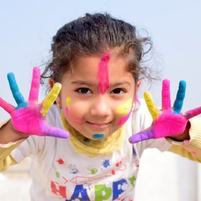 Planning A Safe Holi With Toddlers