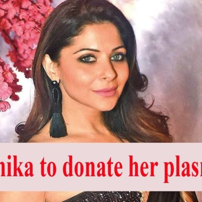 Kanika Kapoor offers to donate plasma for COVID-19 treatment.