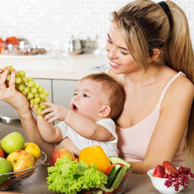 Immunity-Boosting Diet for Lactating Mothers