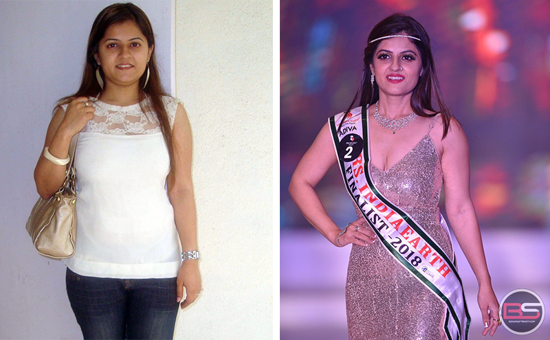 Afreen Khan from Overweight Mother to Mrs. India Earth Face of South 2018