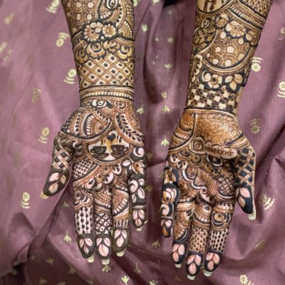 Trending Mehendi Design for  Brides