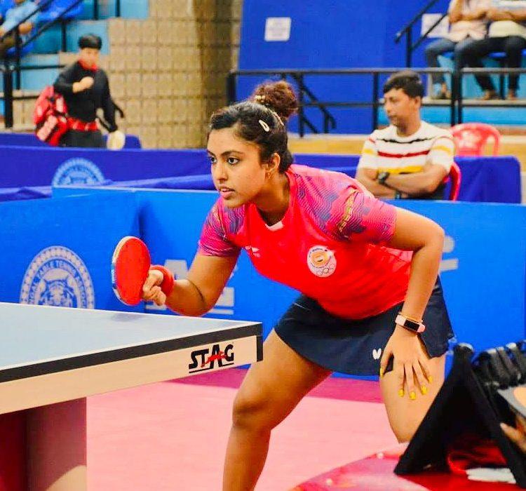 Ayhika Mukherjee:  Commonwealth Table Tennis Gold Medalist