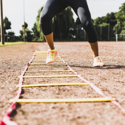 5 Agility Ladder Drills to Burn Calories