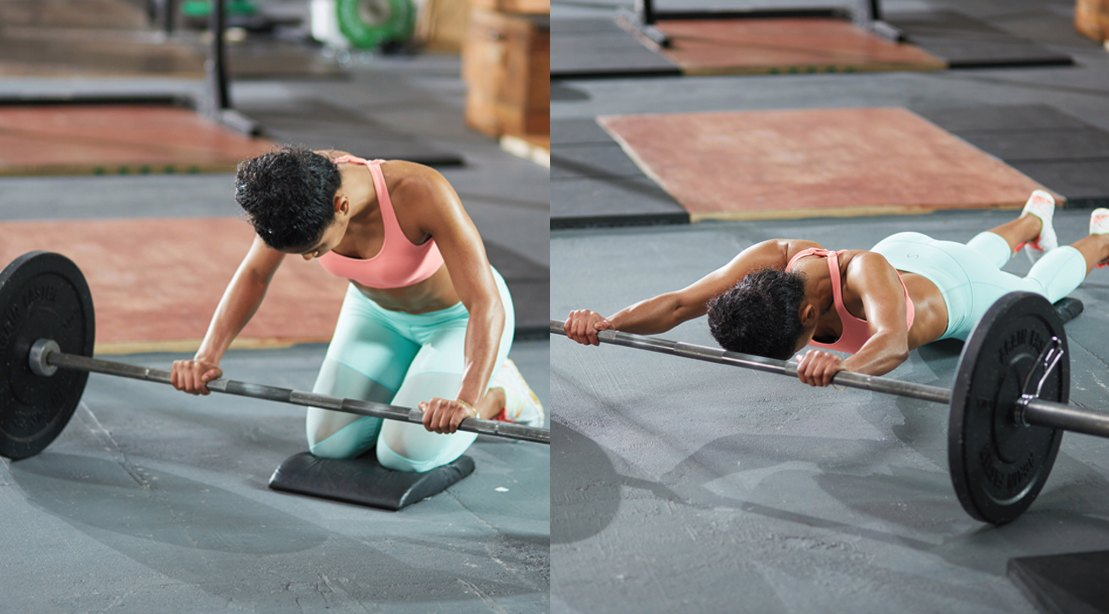 4 Moves for a Perfect Barbell Workout
