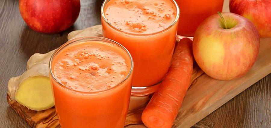 Carrot Apple and Orange Juice