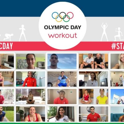 """""""Wishing The Very Best To Our Contingent""""  On Olympic Day 2021"""